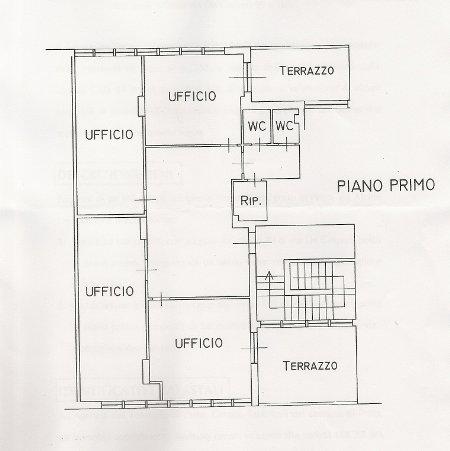 Ufficio in buone condizioni in vendita Rif. 9990681