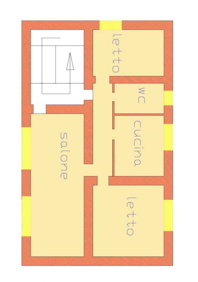 Appartamento da ristrutturare in affitto Rif. 4766827