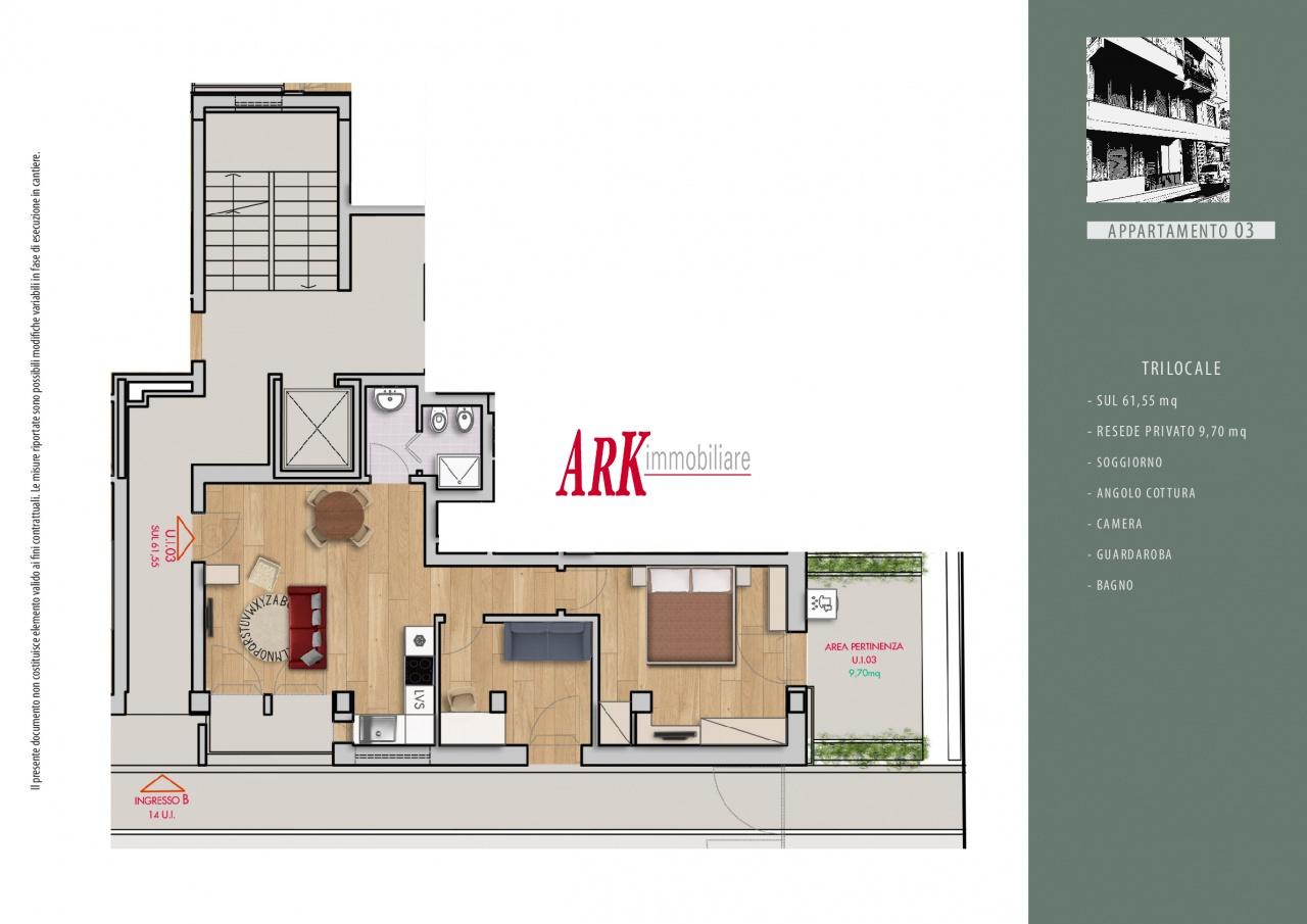 Appartamento ristrutturato in vendita Rif. 9281520