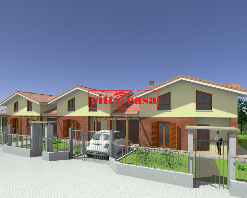 Villa a Schiera in Vendita a Torrazza Piemonte