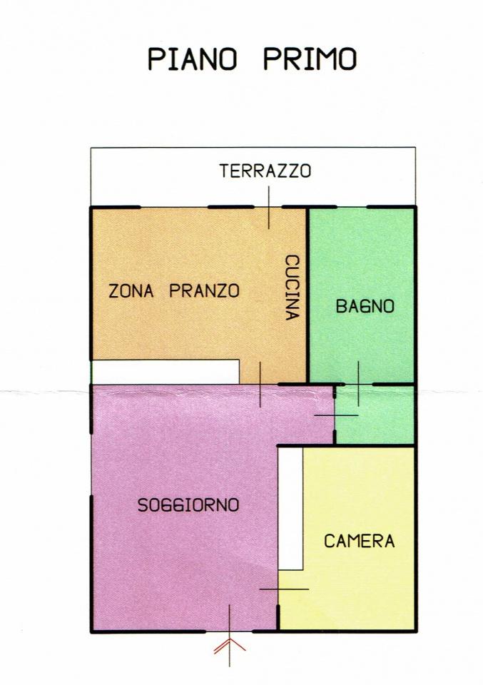 Appartamento in ottime condizioni arredato in vendita Rif. 9916241