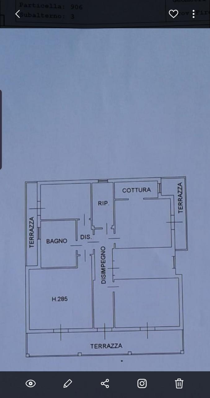 Appartamento in ottime condizioni in affitto Rif. 10497902