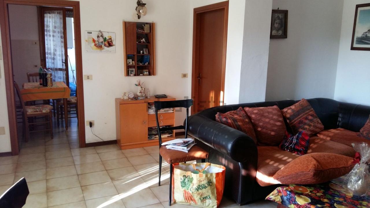 Bellissimo appartamento di 75 mq al Bagno di Gavorrano, in un piccolo condominio con giardino condominiale.<br /> Appartamento composto da 2 camere, soggiorno, cucina, bagno, ripostiglio e terrazzino.<br /> Riscaldamento Autonomo a metano. Garage di 18 mq al piano strada.