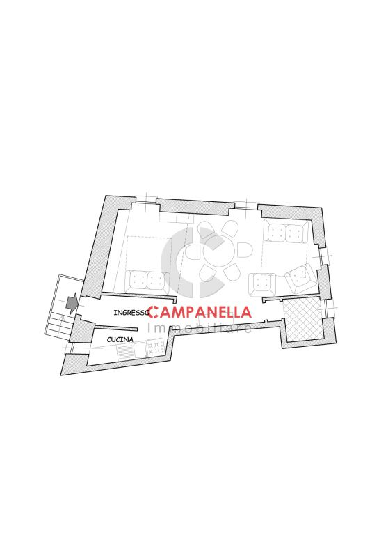 Vendita  bilocale Portofino  1 990360