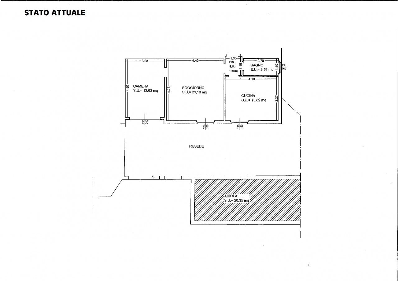 Appartamento in buone condizioni in vendita Rif. 9577806