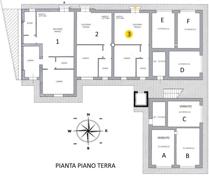 Vendita  bilocale Lucca S.s.annunziata 1 532264