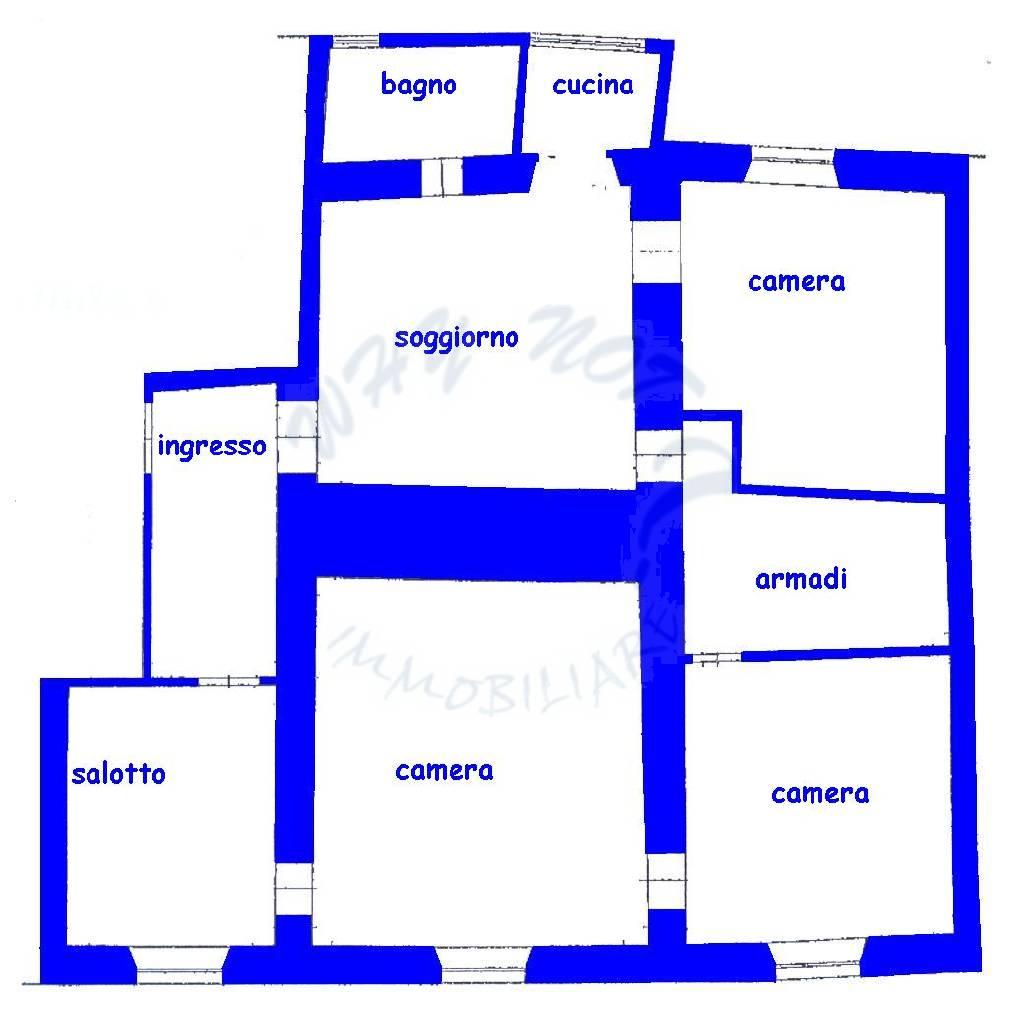 Appartamento in vendita a Lucca, 6 locali, zona Località: CENTRO STORICO, prezzo € 150.000 | Cambio Casa.it
