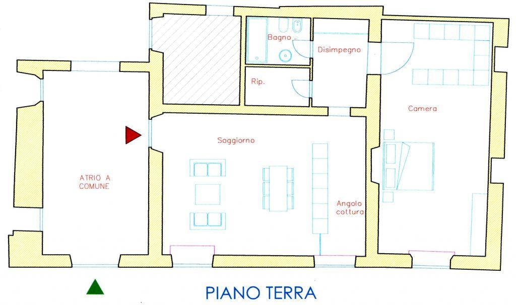 Vendita  bilocale Lucca  1 889696