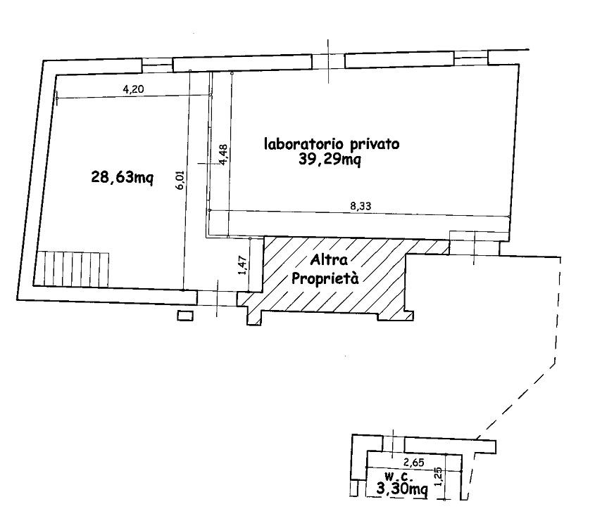 Laboratorio in vendita a Capannori, 1 locali, zona Località: SAN GENNARO , prezzo € 50.000 | Cambio Casa.it