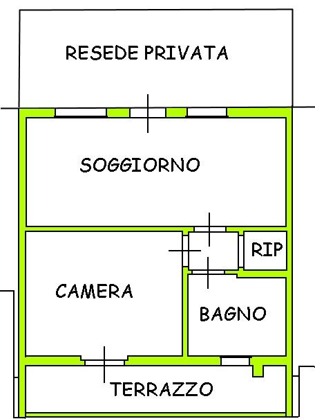 Vendita  bilocale Lucca  1 990429