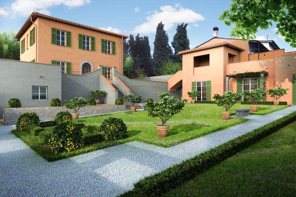 Villa in vendita a Lucca, 8 locali, prezzo € 520.000 | CambioCasa.it