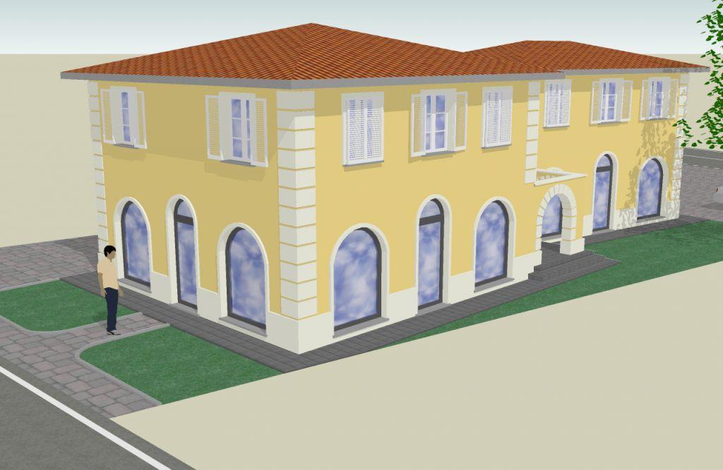 Negozio / Locale in vendita a Capannori, 8 locali, zona Località: LUNATA, prezzo € 800.000 | Cambio Casa.it