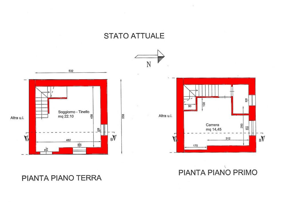 Vendita  bilocale Lucca  1 1061483