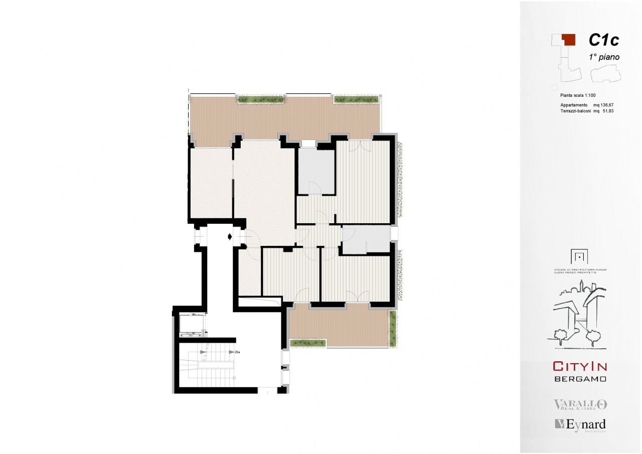 Appartamento, via Vittore Ghislandi, Vendita - Bergamo (Bergamo)