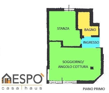 Appartamento in vendita a Ronzone, 2 locali, prezzo € 70.000 | CambioCasa.it