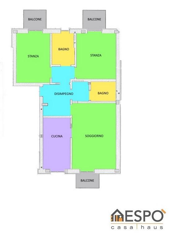 Appartamento in vendita a Salorno, 3 locali, zona Località: SALORNO, prezzo € 250.000 | Cambio Casa.it