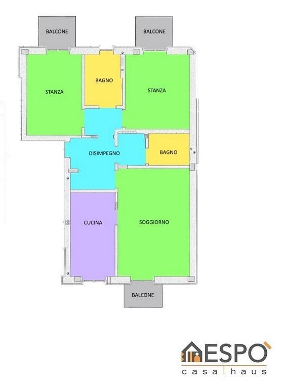 Appartamento in ottime condizioni in vendita Rif. 4771651