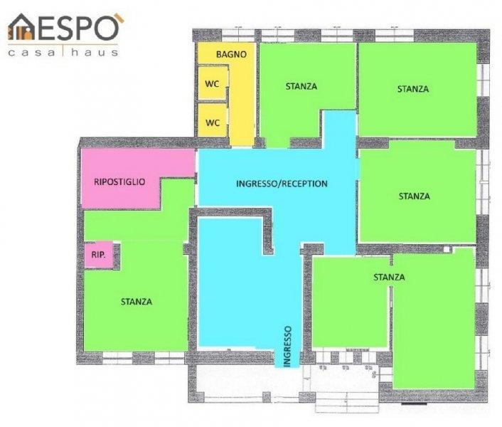 Ufficio / Studio in affitto a Bolzano, 5 locali, zona Località: ROMA PZZ.A MATTEOTTI, prezzo € 1.800 | Cambio Casa.it