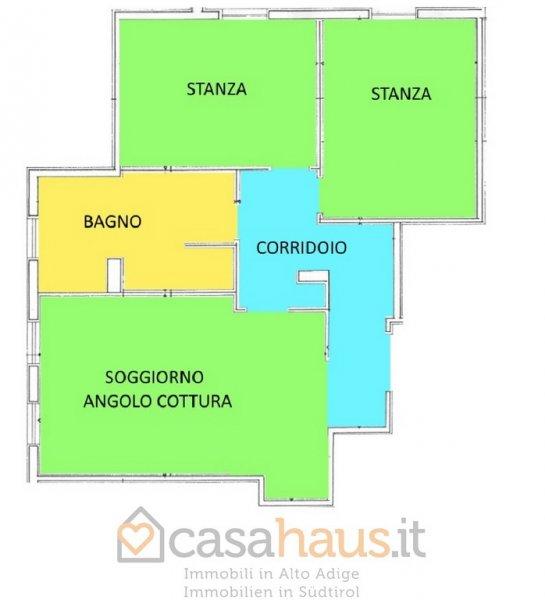 Appartamento in vendita a Laives, 3 locali, zona Località: PAESE, prezzo € 200.000 | Cambio Casa.it