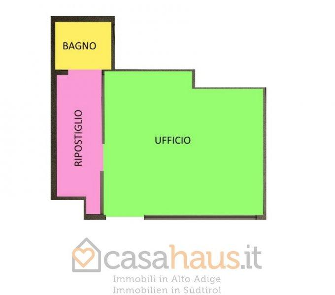 Ufficio / Studio in vendita a Bolzano, 1 locali, zona Località: DON BOSCO, prezzo € 66.600 | Cambio Casa.it