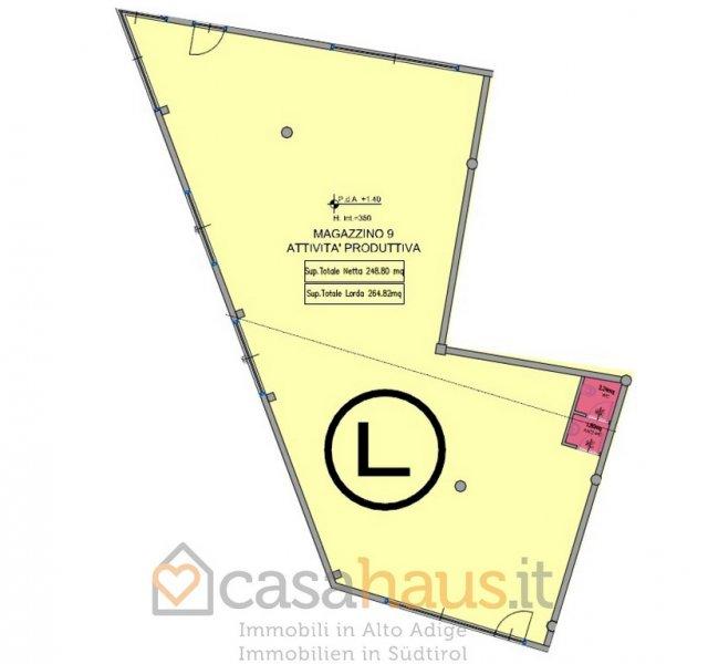 Capannone in vendita a Laives, 9999 locali, zona Località: GENERICA, Trattative riservate | Cambio Casa.it