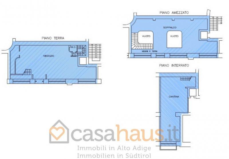 Negozio / Locale in affitto a Bolzano, 9999 locali, zona Località: CENTRO, prezzo € 4.000 | Cambio Casa.it