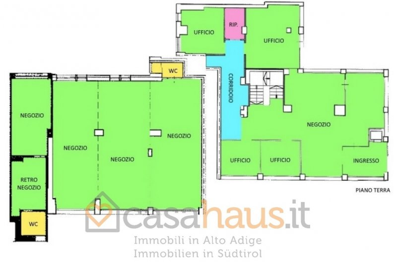 Negozio / Locale in Affitto a Bolzano