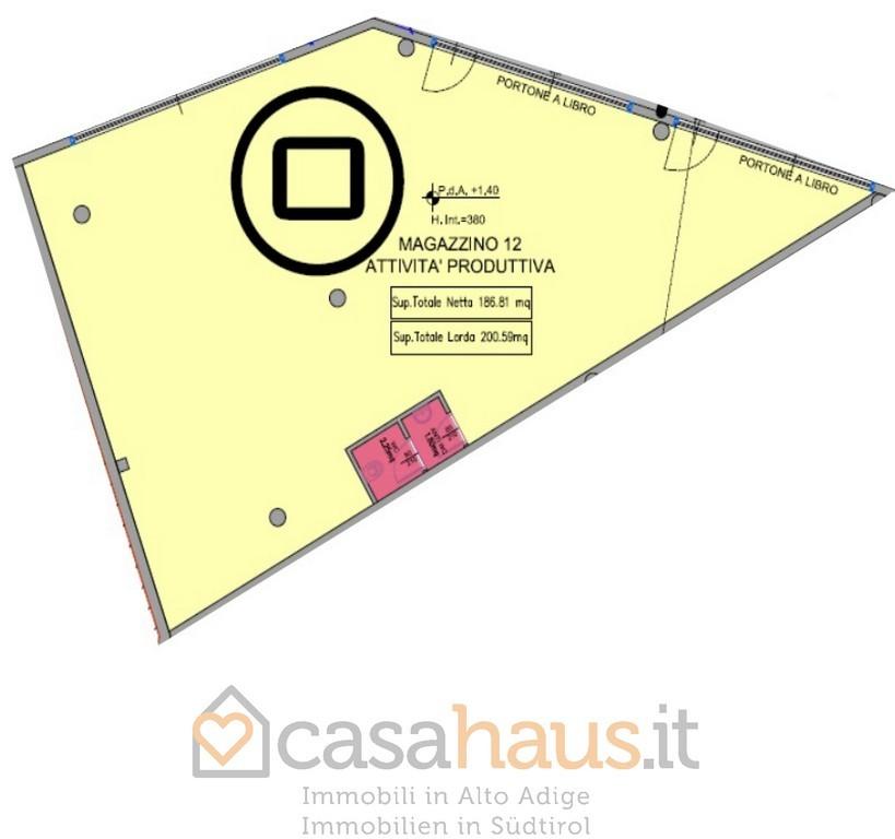 Magazzino - capannone in vendita Rif. 9221926