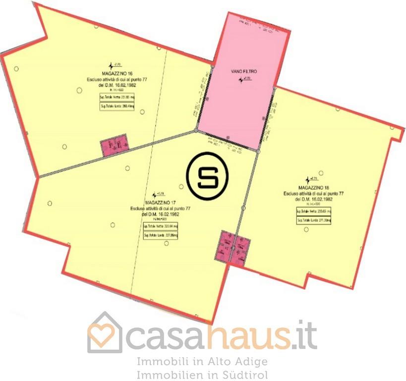Magazzino - capannone in vendita Rif. 9322815