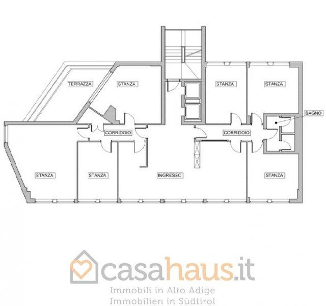 Ufficio / Studio in affitto a Bolzano, 9999 locali, zona Località: TRIBUNALE, prezzo € 3.100 | Cambio Casa.it