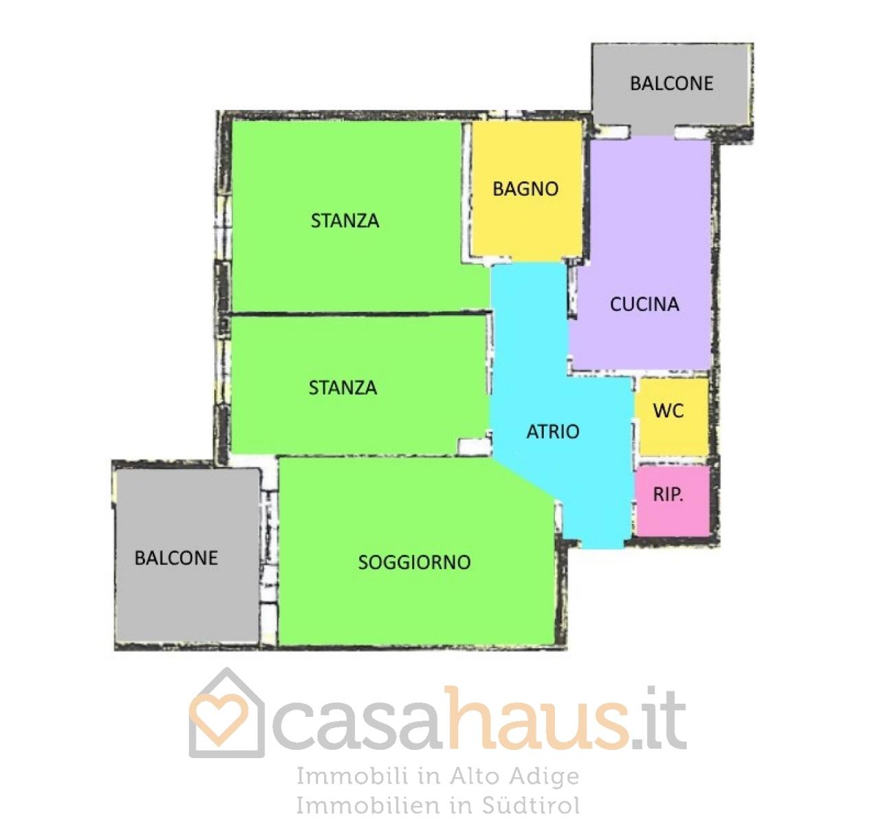 Appartamento in buone condizioni in vendita Rif. 11114006
