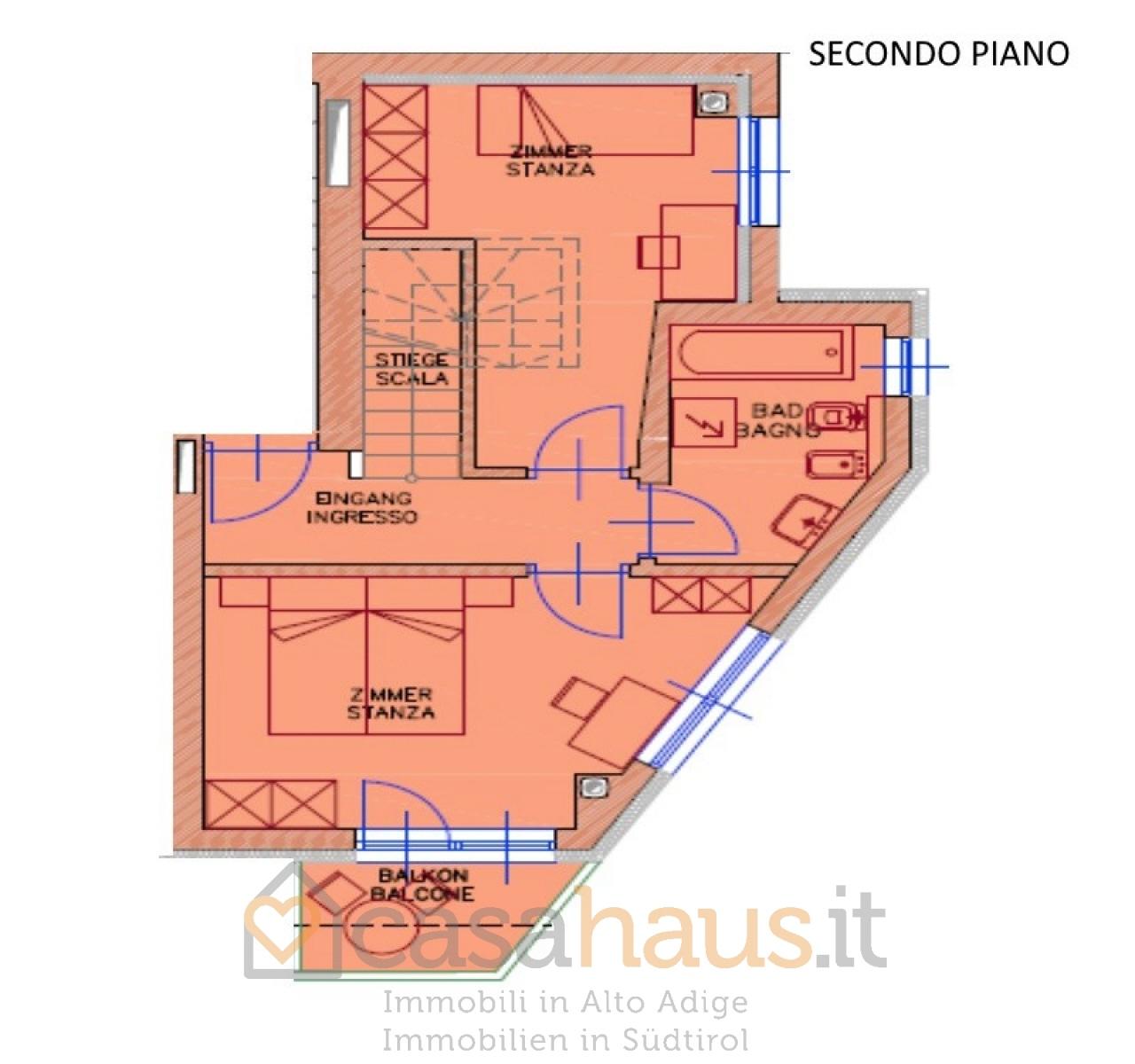 Appartamento in vendita a Tires, 3 locali, prezzo € 315.000 | CambioCasa.it