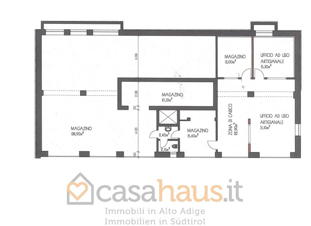 Magazzino - capannone in affitto Rif. 10054510