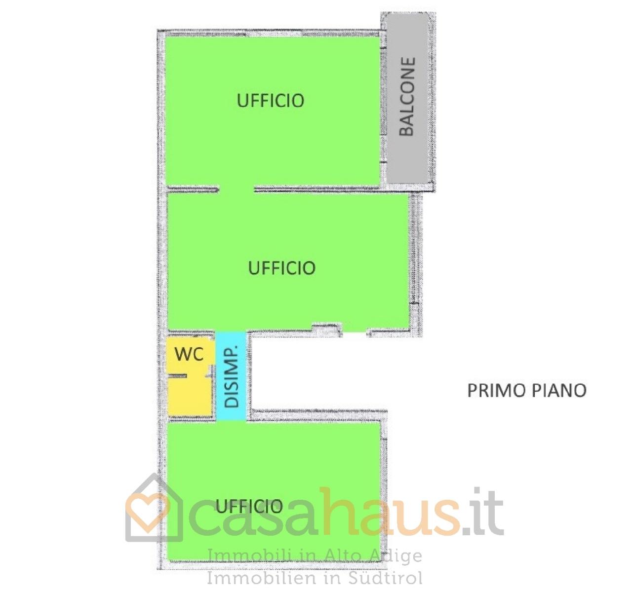 Ufficio / Studio in vendita a Bolzano, 3 locali, prezzo € 170.000 | CambioCasa.it
