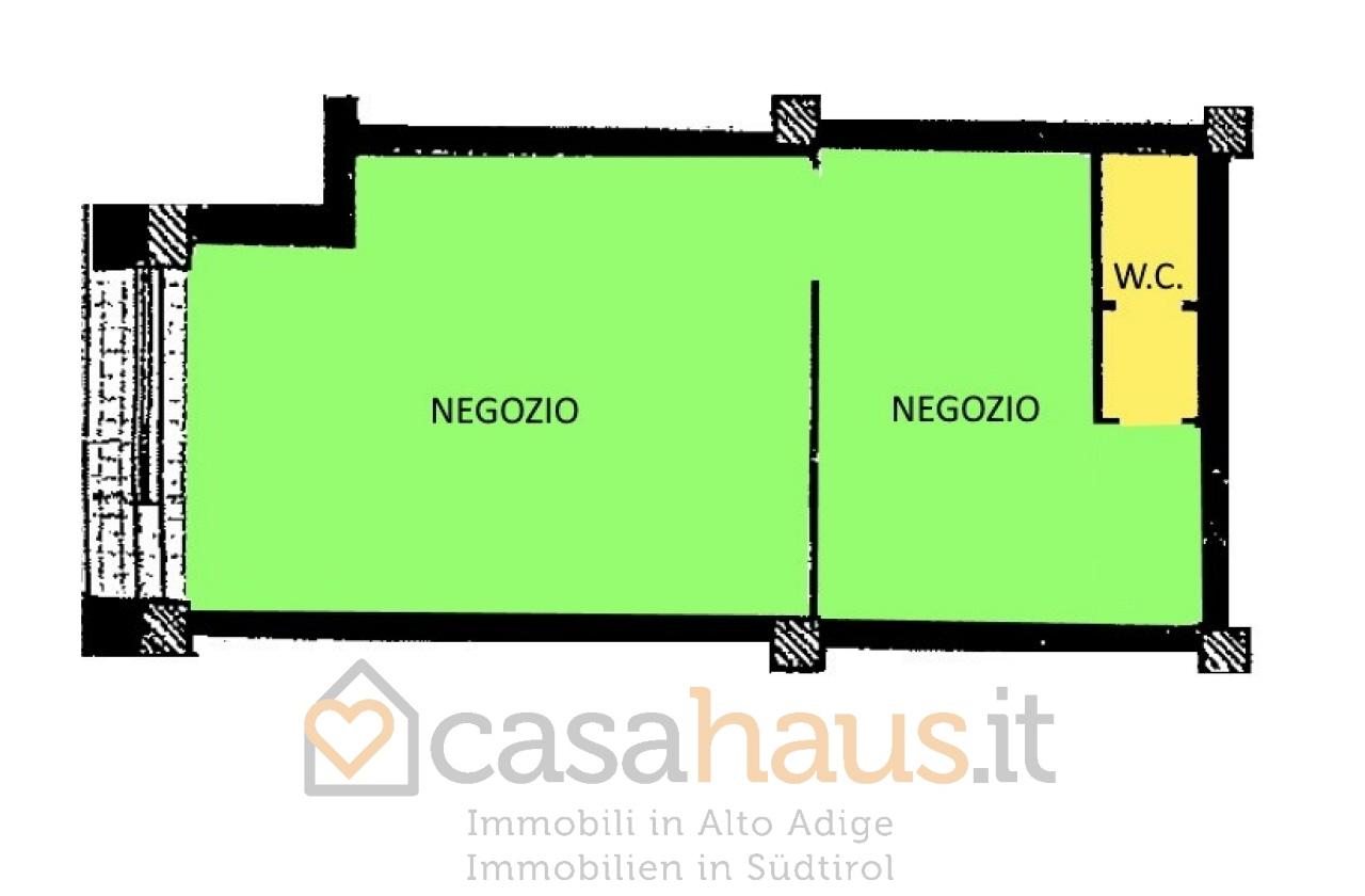 Negozio / Locale in vendita a Merano, 1 locali, prezzo € 210.000 | CambioCasa.it