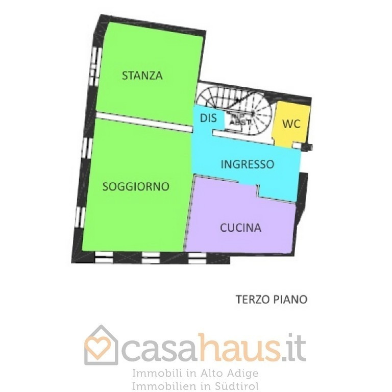 Appartamento in vendita a Appiano sulla Strada del Vino, 4 locali, prezzo € 550.000 | PortaleAgenzieImmobiliari.it