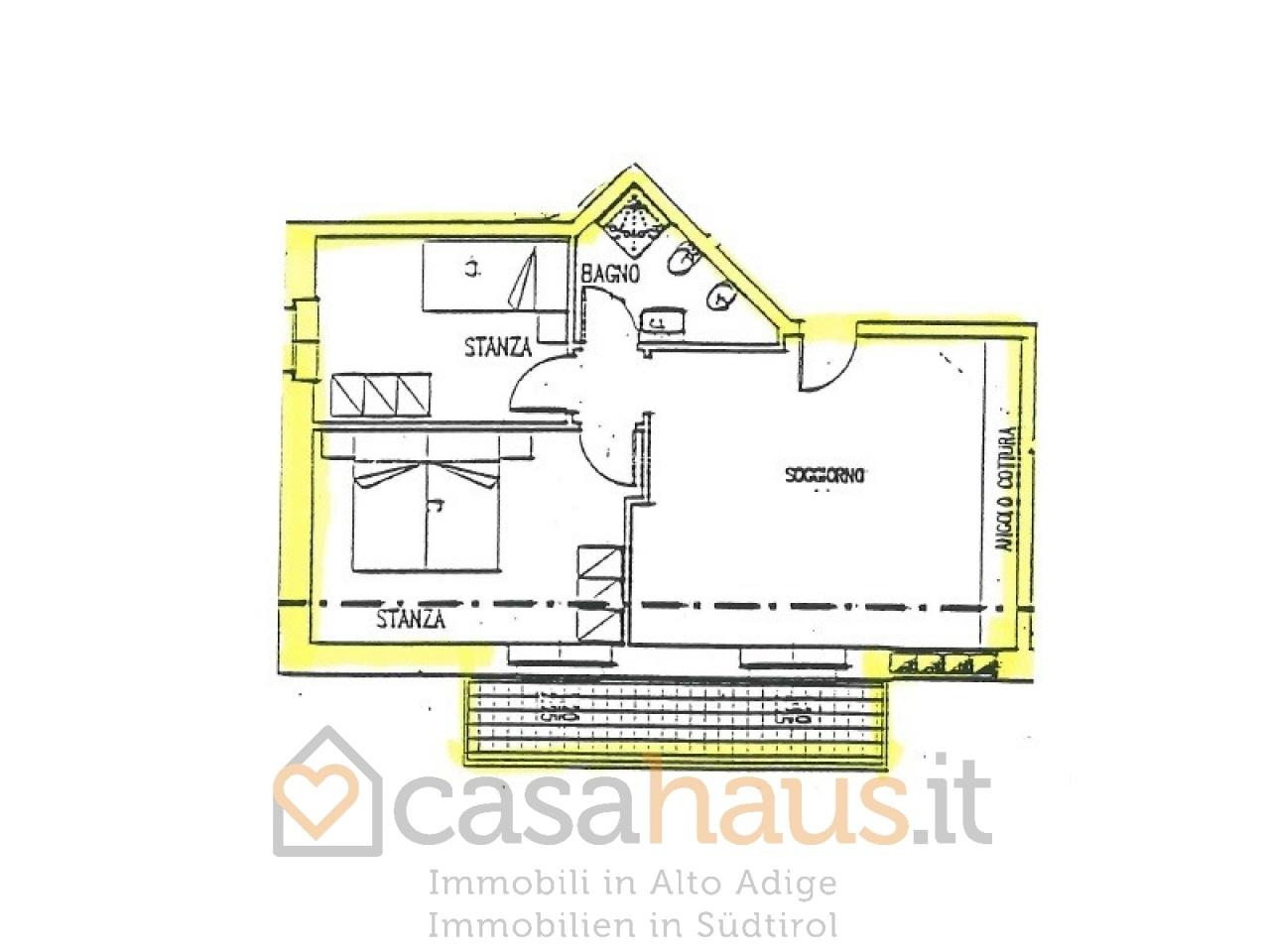 Appartamento trilocale in vendita a Ronzone (TN)