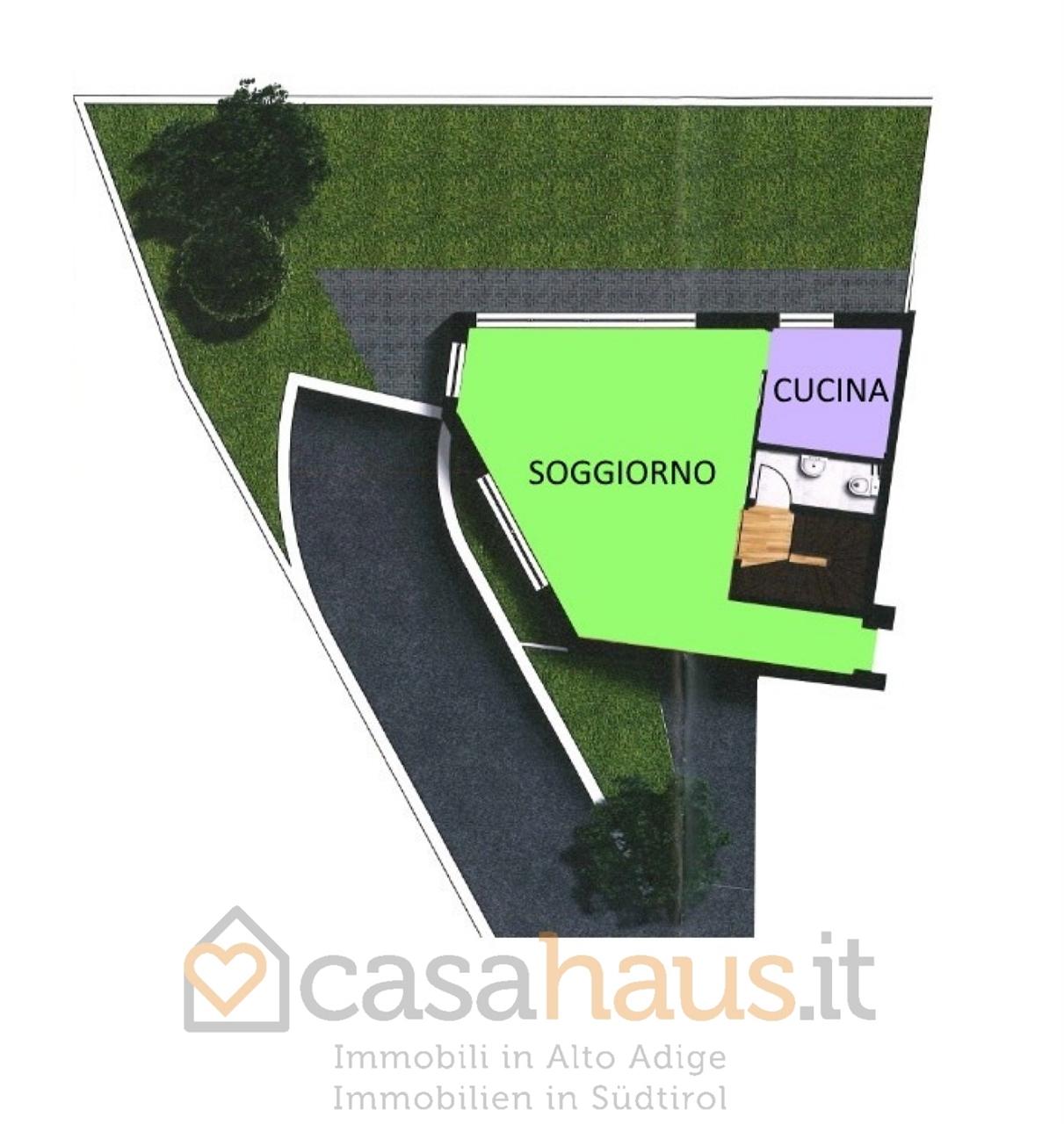 Villa a schiera quadrilocale in vendita a Postal (BZ)