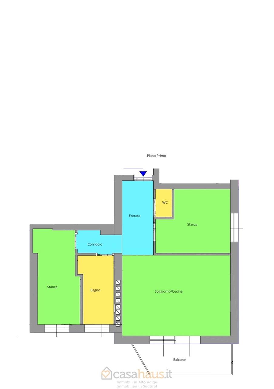 Appartamento trilocale in affitto a Merano (BZ)