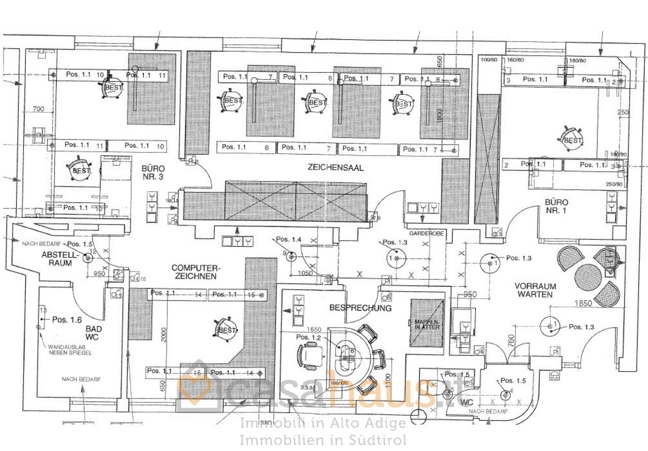 Ufficio / Studio in vendita a Bolzano, 3 locali, prezzo € 500.000 | PortaleAgenzieImmobiliari.it