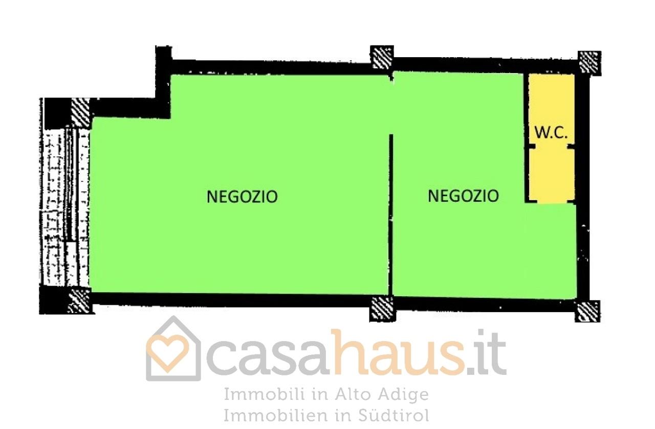Negozio monolocale in vendita a Merano (BZ)