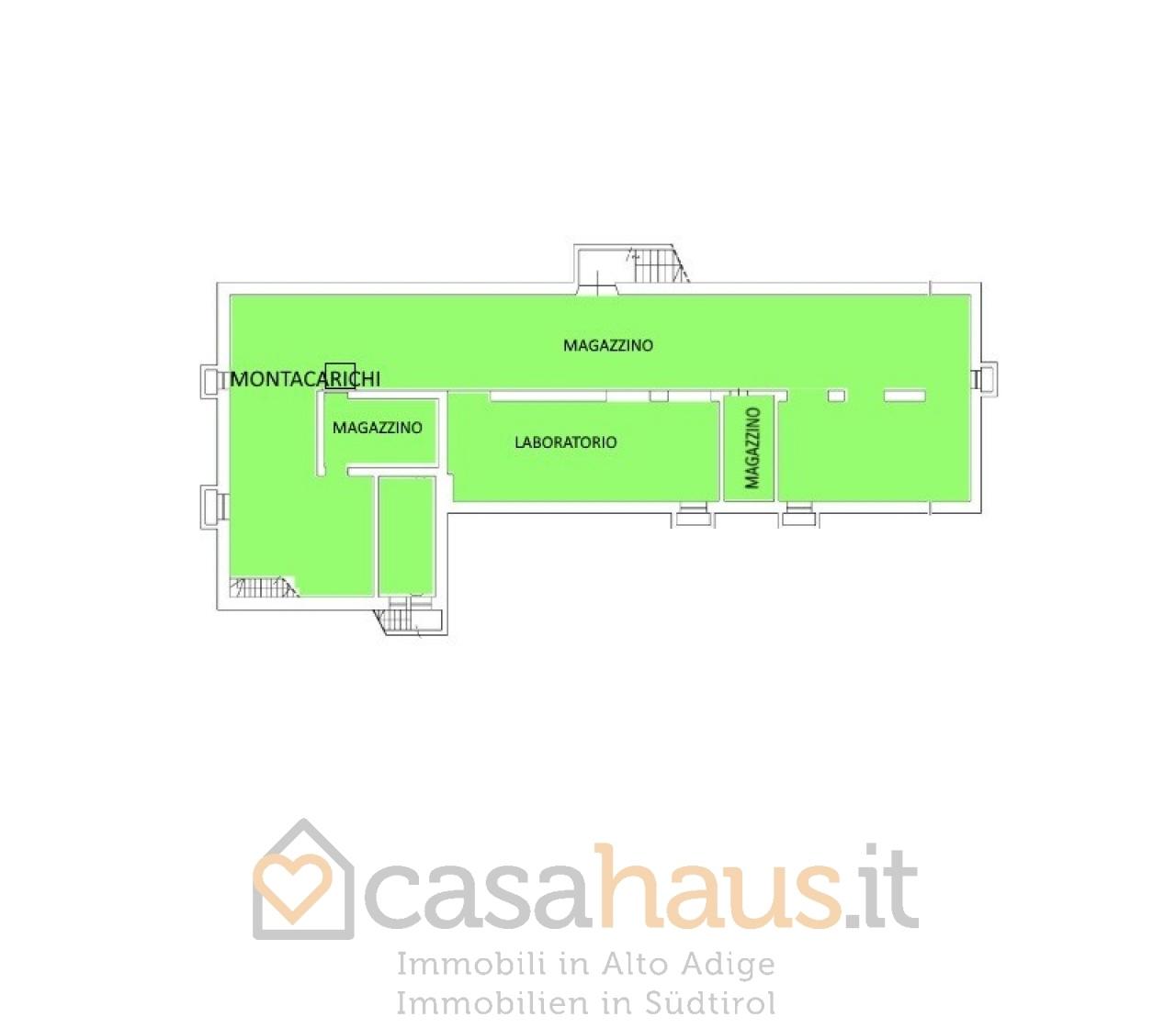Magazzino in vendita a Bolzano, 1 locali, Trattative riservate | PortaleAgenzieImmobiliari.it