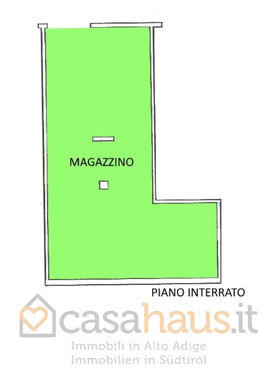 Magazzino in vendita a Merano, 1 locali, prezzo € 149.000 | CambioCasa.it