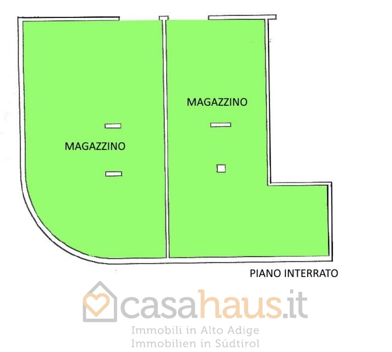 Magazzino in vendita a Merano, 2 locali, prezzo € 290.000 | CambioCasa.it