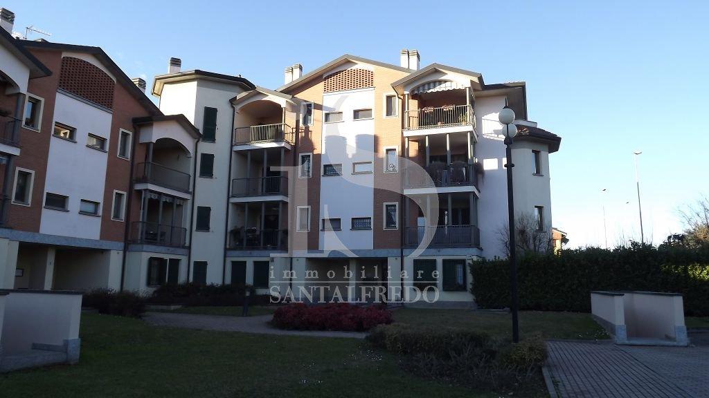 Bilocale Ornago Via Borsellino 12