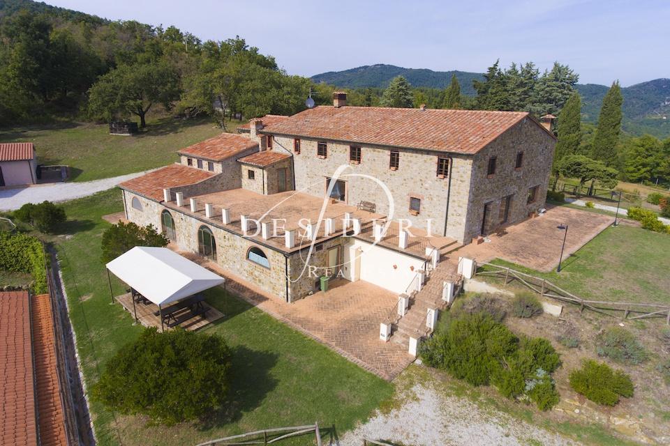 AGRITURISMO in VENDITA a Montieri, Grosseto Rif.8857569