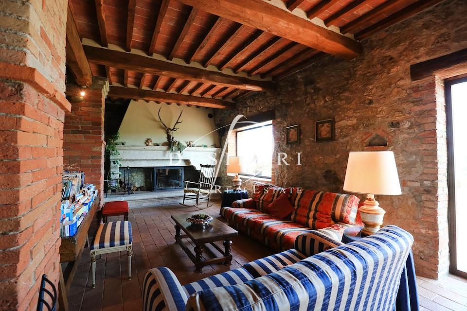 CASALE in VENDITA a Montieri, Grosseto Rif.11700622
