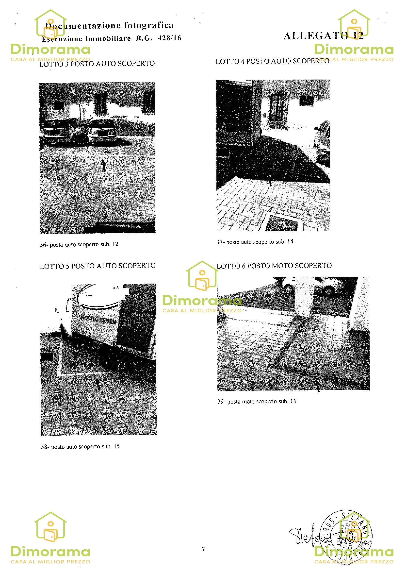 Box e posti auto in vendita Rif. 10861685