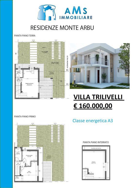 Villa in vendita a Capoterra, 3 locali, prezzo € 160.000 | Cambio Casa.it