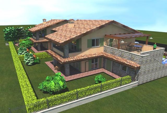 Soluzione Indipendente in vendita a Vaprio d'Adda, 3 locali, zona Località: VAPRIO D'ADDA, prezzo € 205.000 | Cambio Casa.it